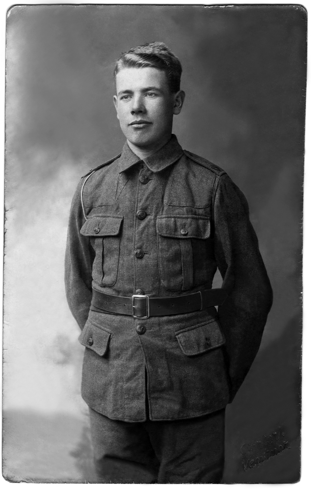 Private Frank Saunders